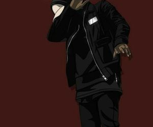black, swag, and dope image