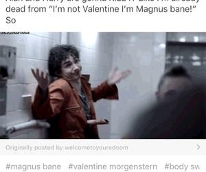 magnus bane, valentine morgenstern, and shadowhunters image