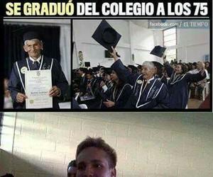 gracioso, humor, and graduacion image