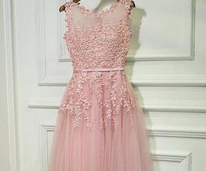 pink prom dresses, for teens, and tulle prom dresses image