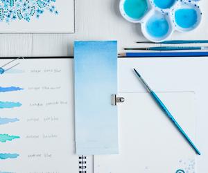 art, azul, and pretty image