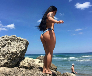 butt, fitness, and girl image