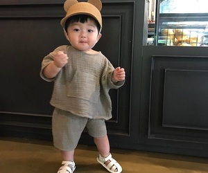 asian, asian baby, and boy image