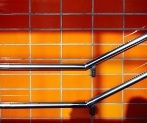 abstract photography, orange, and street photography image