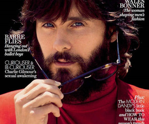 cover, esquire magazine, and jared leto image