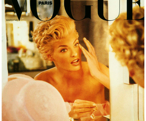 vogue, fashion, and linda evangelista image