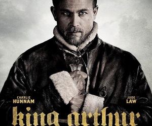 Charlie Hunnam, excalibur, and jude law image