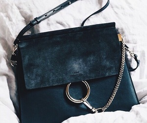 bag, chain, and green image