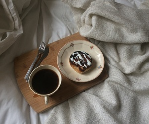 blanket, breakfast, and coffee image