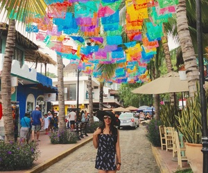 colors, nayarit, and sayulita image