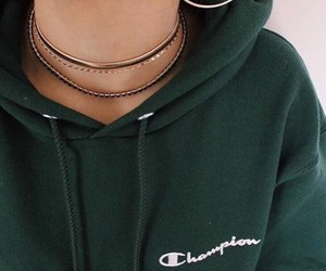 clothes, girl, and necklace image