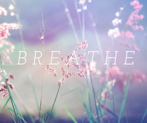 anxiety, blue, and breathe image