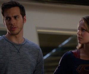 Supergirl and chris wood image