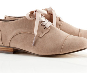 brown, oxfords, and pink image