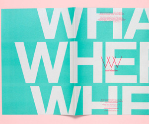 blue, pink, and typography image