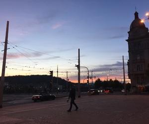 prague, sunset, and holiday image