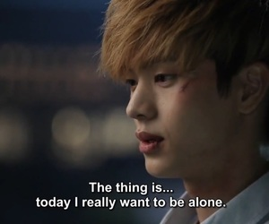 Korean Drama, quotes, and subs image