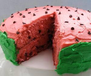 buttercream, cake, and Cake Decorating image