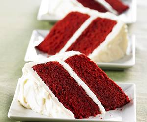 cake, red velvet, and food image