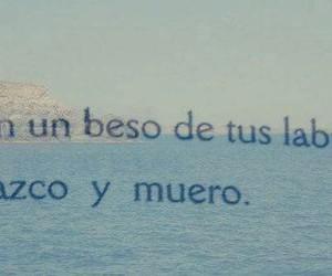 beso, morir, and kiss image