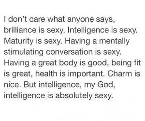 intelligence, is, and sexy image