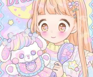 anime, baby girl, and little girl image