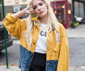 aesthetic, halsey, and yellow image