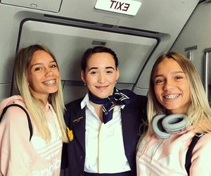blond, fly, and girls image
