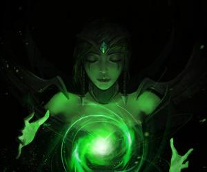 karma, lol, and league of legends image