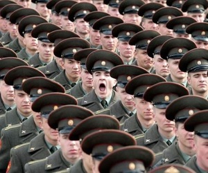 funny, soldier, and army image
