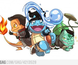 pokemon, avatar, and korra image