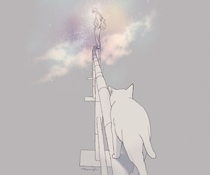 art, cat, and anime image