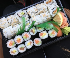 food, ginger, and japanese image