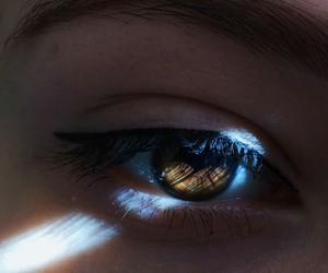 eye, light, and eyes image