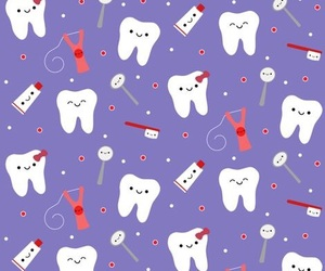 dentist, tooth, and fun image