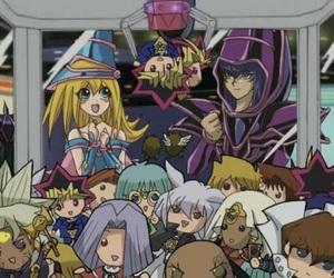 anime, cartas, and yu gi oh image