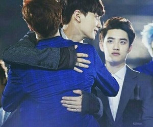 Chen, couple, and exo image