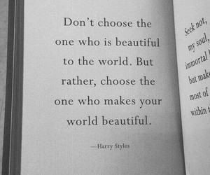 quotes, Harry Styles, and life image