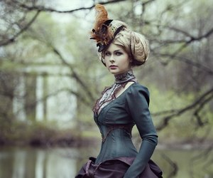 fashion, girl, and steampunk image
