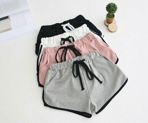 fashion, shorts, and pink image