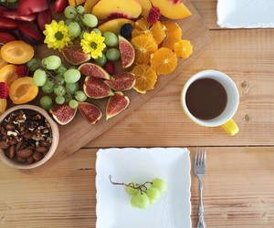 coffee, fitness, and FRUiTS image