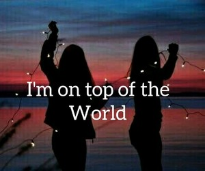 imagine dragons and i'm on top of the world image
