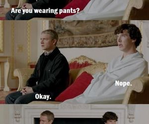 funny, quote, and sherlock image