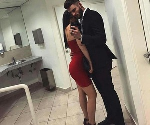 couple, goals, and red image