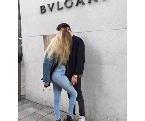 blonde, boyfriend, and couples image