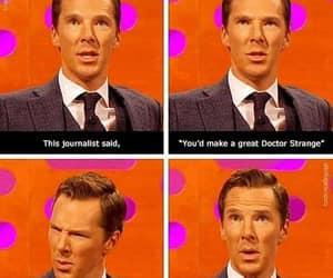 doctor who, benedict cumberbatch, and doctor strange image