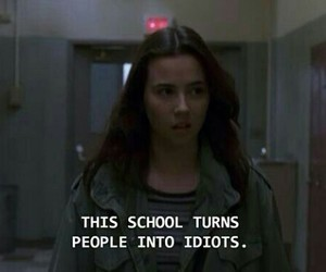 school, grunge, and idiots image
