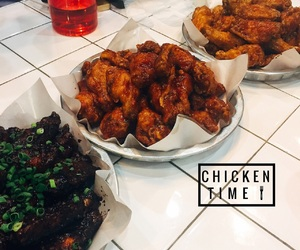 Chicken, food, and korean image