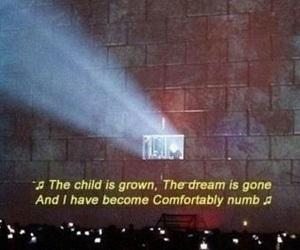 Lyrics, music, and Pink Floyd image