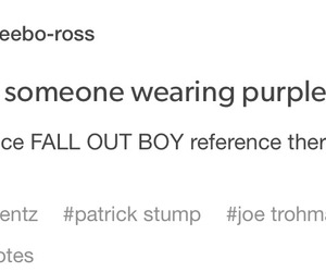 fall out boy, mania, and young and menace image
